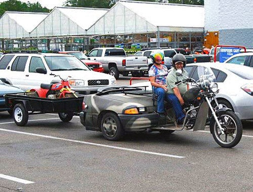 Probably The Most Redneck Trike Ever