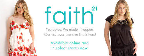 Plus-Sized Clothing Line Faith 21: Huge Fail?
