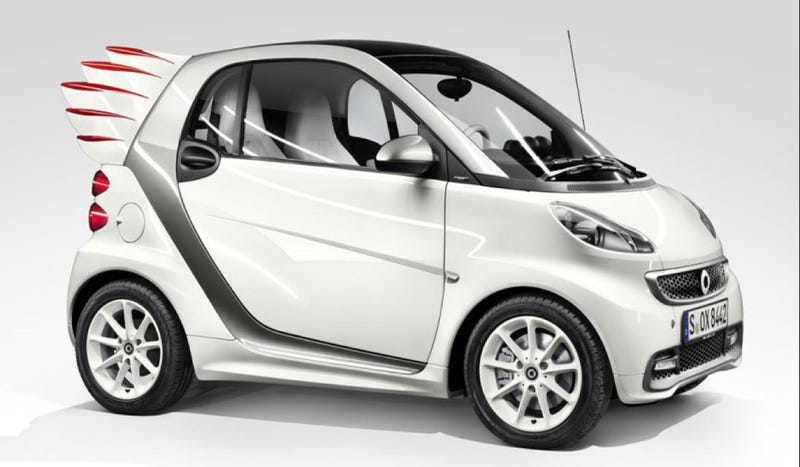 Smart Will Try To Sell You A Wee Little Car With Wings That Can't Fly