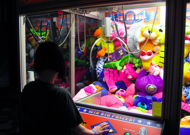 """Mummy, I Want That Little Girl Inside the Claw Machine"""
