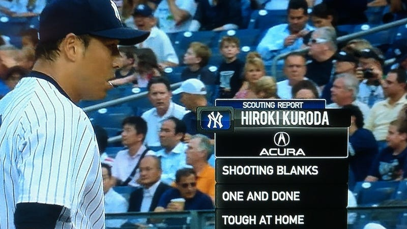 This Hiroki Kuroda Scouting Report Is Apparently Brought To You By His Frustrated Wife