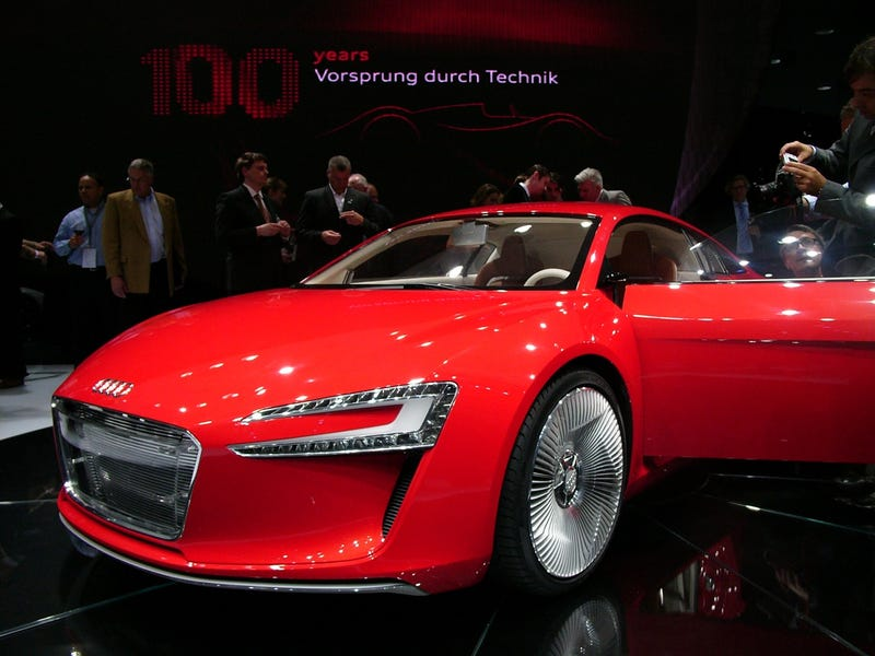 Audi e-Tron: Live Photos
