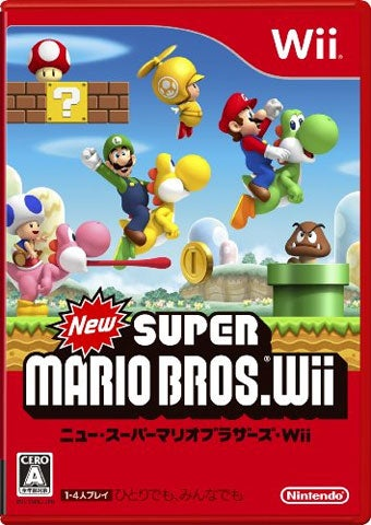 New Super Mario Bros. Wii Moves Over 420,000 Day One In Japan