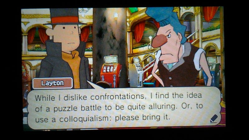Professor Layton And The Fantastic Verbal Smackdown