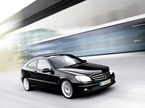 2009 Mercedes CLC Coupe, Now Without Fashion Models