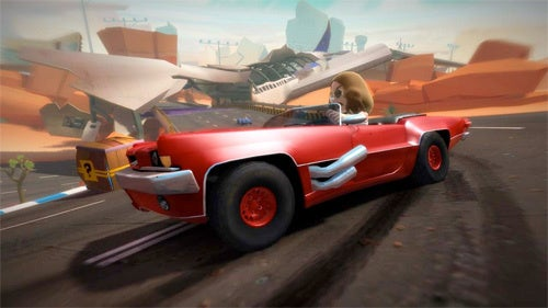 Report: Xbox 360's Joy Ride Is Now A Project Natal Game