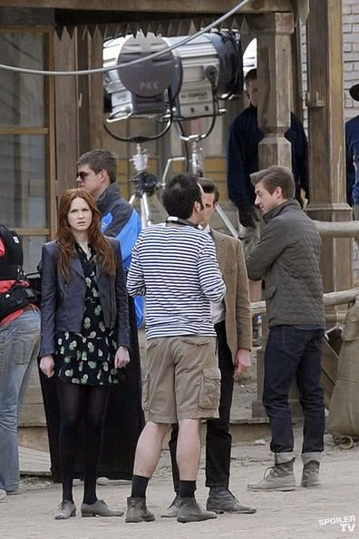 Doctor Who Spain Set Photos