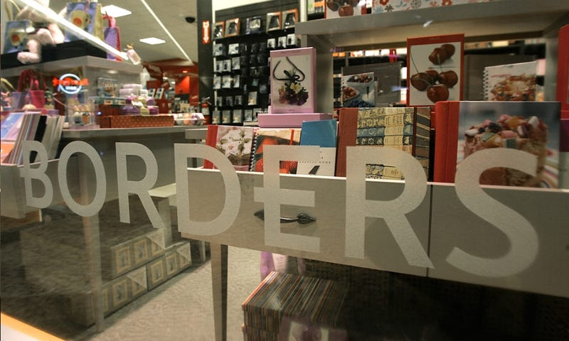 Borders Is Bankrupt. Use Your Gift Cards Now!