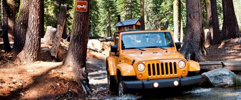 Jeep designer Mark Allen is upset with the Wrangler grille