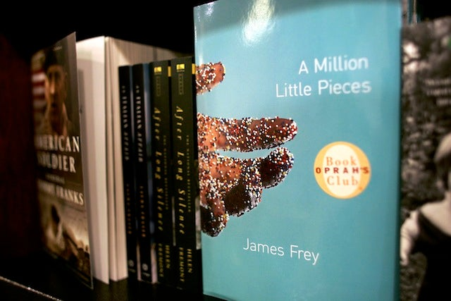 How is Google involved in James Frey's YA book and movie deal?