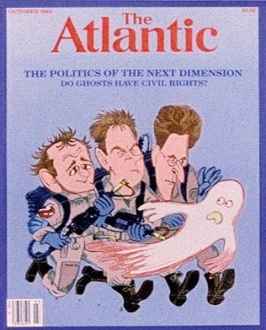 If that Atlantic article from Ghostbusters were real...