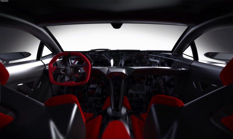 Lamborghini Sesto Elemento: First Photos