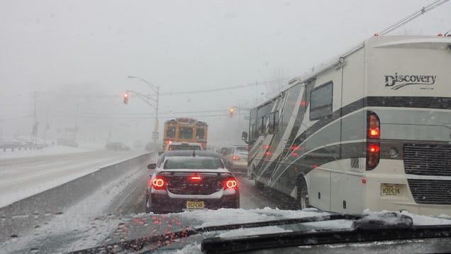 Snowpocalypse The Class 3 Kill Storm As Seen By Nj
