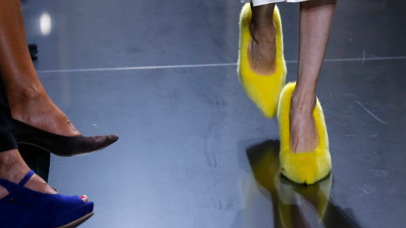 The Shoes At Céline Were Very, Very Strange