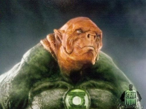 First look at Green Lantern's alien trainer, Kilowog!