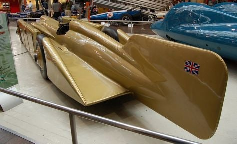 1929 Land Speed Record Setter: Irving-Napier Golden Arrow