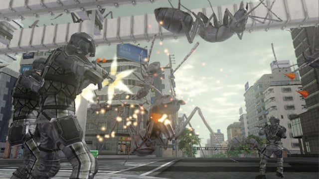 Earth Defense Force 4 Is Big Fun with Big Enemies and Big Guns