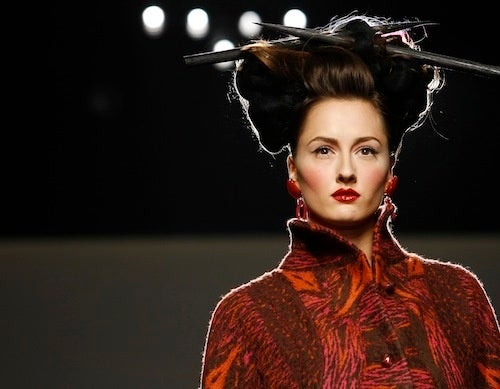 Fall Fashion Trends: Big Hair And Pick-Up Sticks