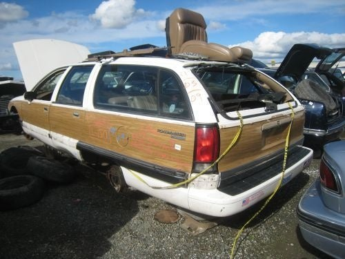 Shake Your Fist At The Heartless Car Gods: Clunkerized Roadmaster Wagon!