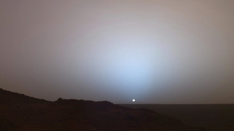 No, This Isn't The First Picture From The Mars Curiosity Rover