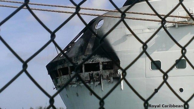 (UPDATE) Fire Breaks Out on Royal Caribbean Ship Off Florida Coast