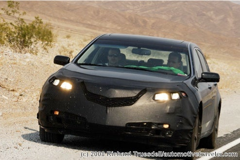2009 Acura TL Shvitzing In The Hot Desert Heat
