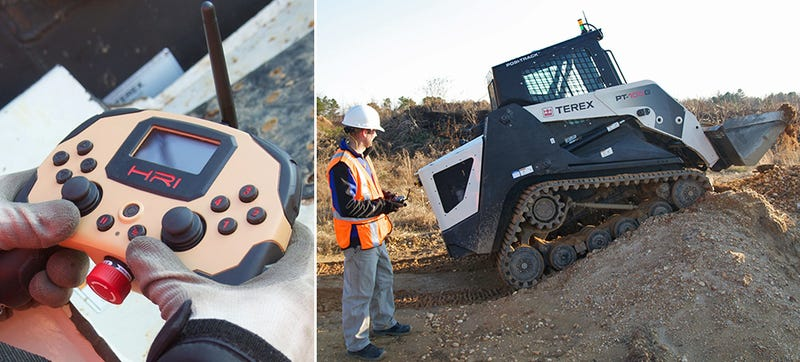 A Videogame Controller Designed To Operate Construction Equipment