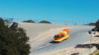 Oscar Mayer's Weiner Takes to the Track