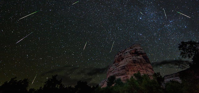 Tonight's Meteor Shower Will Be Like Watching the Jump to Light Speed