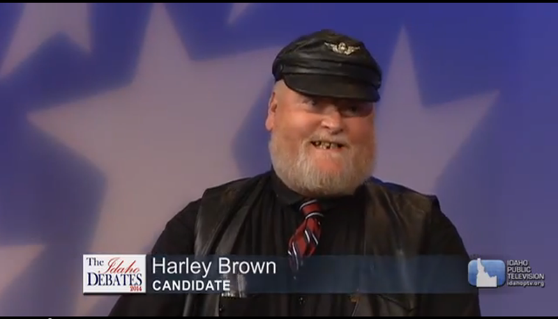 I Can't Stop Watching This Bizarre Idaho GOP Governor's Debate Video