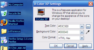 D-Color Customizes Your Desktop Icons