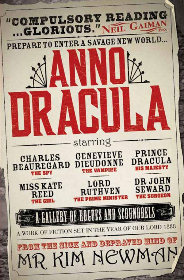 "What if Dracula won? The secret inspirations behind ""Anno Dracula"""