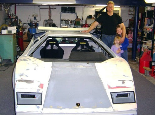 Basement Lamborghini Donations Reach Goal