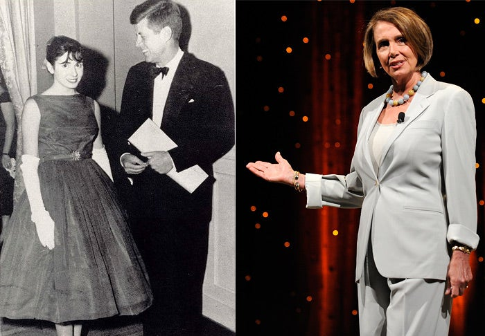 Nancy Pelosi Partied With JFK 50 Years Ago