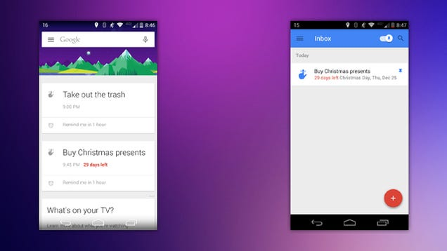 Google Now Can Provide Countdowns to Major Holidays in Reminders