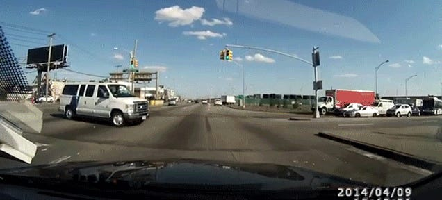 Border Patrol Accuse Man Of Running Red In Crash, Dashcam Says Not So