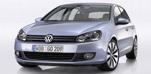 New VW Golf VI Euro Pricing Announced