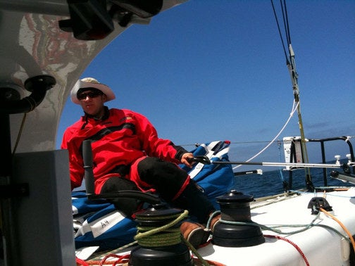 The Pegasus Open 50 Raceboat Log: Day/Night One