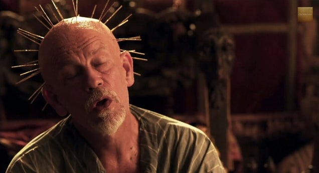 John Malkovich Goes Full Insane Pirate King in Crossbones