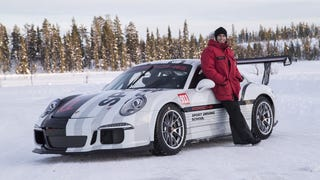 There is an actual, Porsche-built 991 Cup for snowdriving