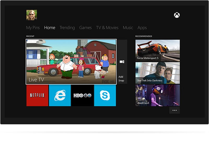 Xbox One Could the Best Friend Your TV Ever Had