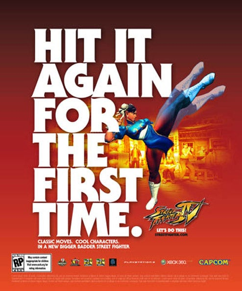 "Chun-Li Invites You To ""Hit It Again For the First Time"""