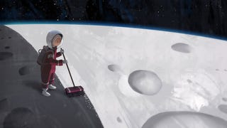 Concept Art Writing Prompt: The Kid Who Paints The Moon