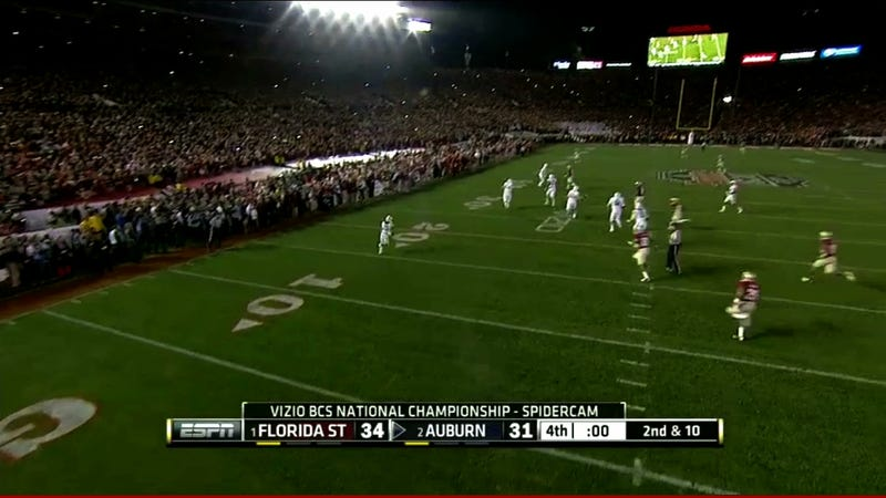 Auburn Came This Close To Springing The Final Play For A Winning TD
