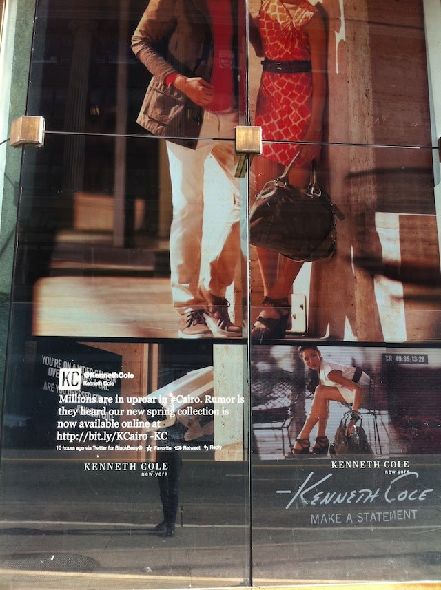 Creative Backlash Against Kenneth Cole's Idiotic Egypt Tweets