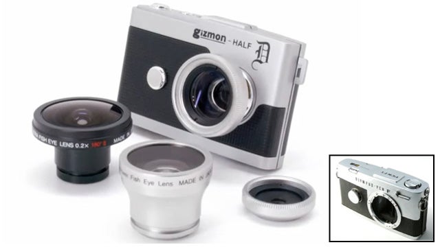 Olympus PEN F Cloned, Digitized and Turned into Quirky Toy Camera