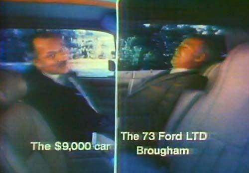 The 1973 Ford LTD Brougham: Just Like The Jaguar XJ6!