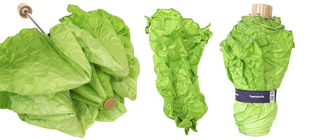 This Lettuce Umbrella Should Count As a Serving of Veggies