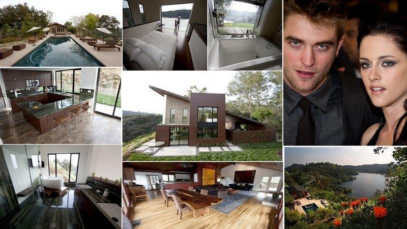 Robert Pattinson and Kristen Stewart Are Selling Their Chilly Vamp Nest