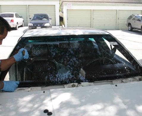 Install New Windshield Glass